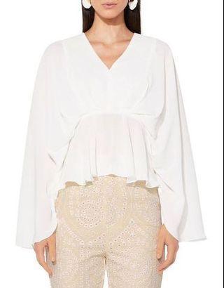 Mossman white blouse