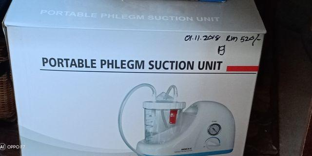 Portable Phlegm Suction Unit + 50pcs Suction Catheter