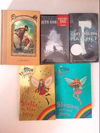 Rainbow magic books and other books