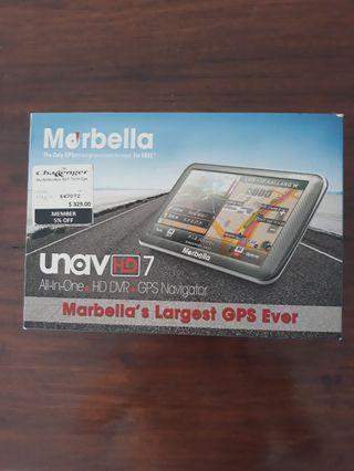 Morbella unavHD7 GPS/Camera