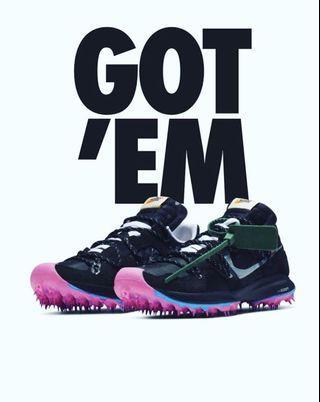 "Nike Zoom Terra Kiger 5 Off White "" Black """