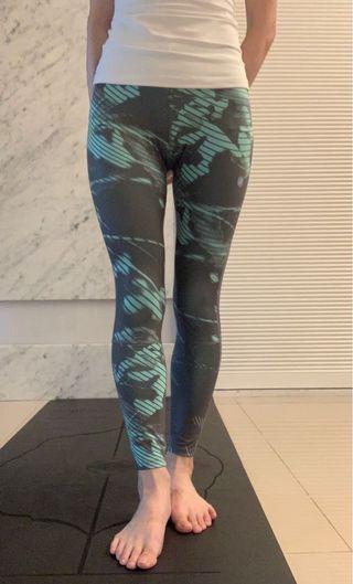 日本品牌 亞瑟士ASICS 瑜珈褲/Yoga Tights Size XS