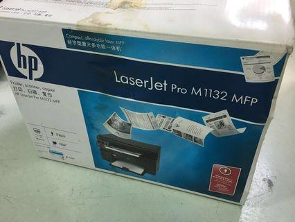 Black and white Printer scanner