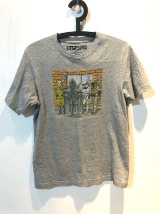 Uniqlo 星際大戰黑武士T-shirt 男款 (size: S)