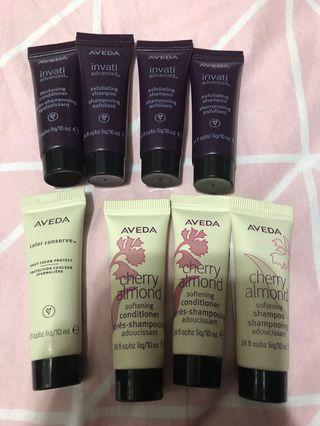 Aveda hair sample x8