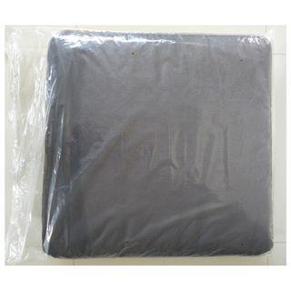 2 Black Chair Cushions