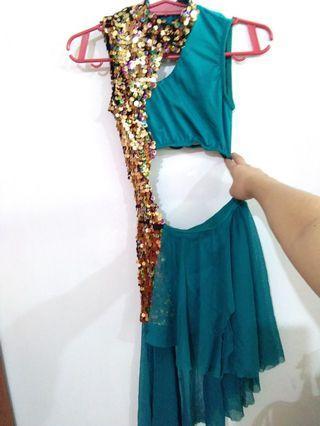 Latin ballroom costume