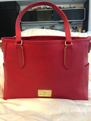 Women's Large Red Purse