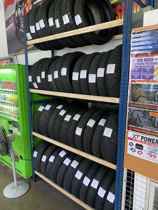Used tyres from $30 with installation