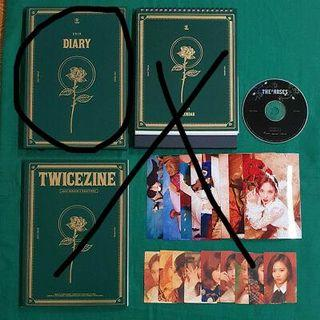 (WTB) TWICE SEASON GREETINGS 2019 DIARY
