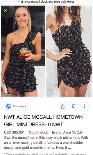 Alice McCall hometown dress