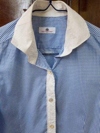 OLD ENGLAND babyblue shirt
