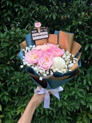 Two Toned Roses Bouquet