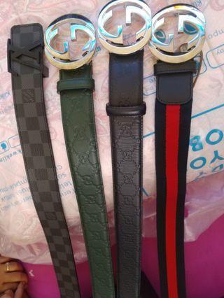Belt gucci & Lv