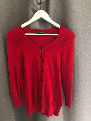 Dorothy Perkins red cardigan