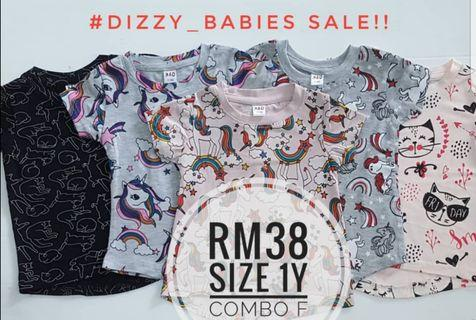Tee buy 5pcs ×rm38 only