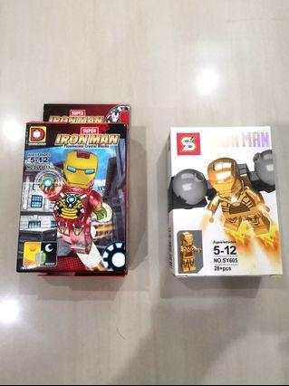 🚚 IRONMAN CRYSTAL BLOCKS, offer your PRICE!