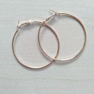 #2 Hoop Earrings / Anting Bulat Korea