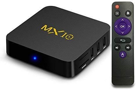 🚚 Mx10 4K android box