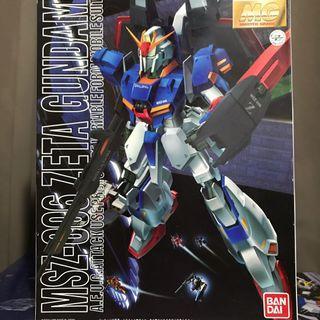 MG MSZ-006 Zeta Gundam 1/100 高達模型