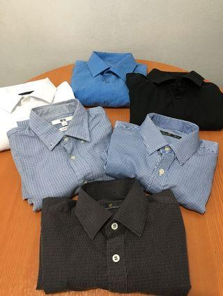 Mixed branded long sleeves polo