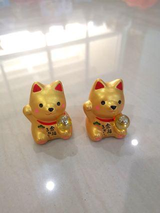 GOLDEN DOG FIGURINE, OFFER YOUR PRICE!!