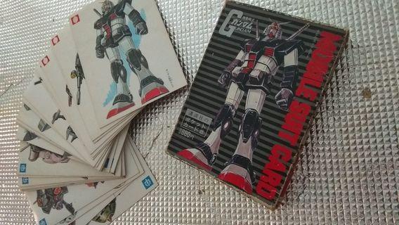 1982年絕版高達收藏卡