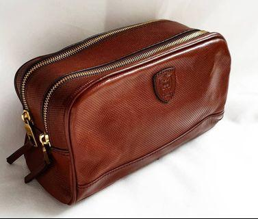 Leather Pouch Massimo Dutti