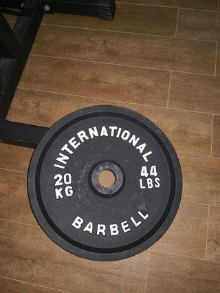 Olympic weight plate 20kg x 4