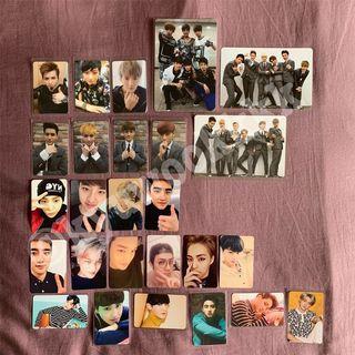 EXO Official Korea / Japan Press Album Photocard