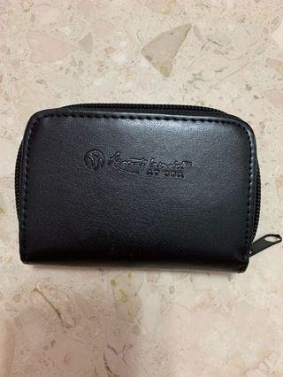 Resort world at sea card holder / pouch