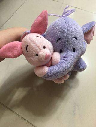 Winnie the Pooh Eeyore and Piglet
