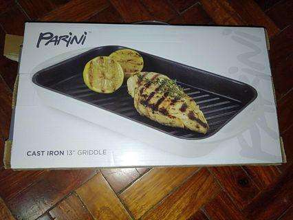 Parini Cast Iron Griddle 13""