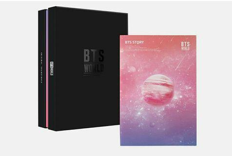 BTS WORLD ALBUM OST