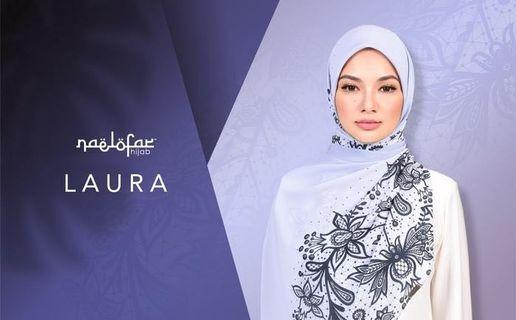 (To Let Go New) Naelofar Hijab Laura Shawl #Carouselland