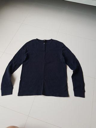 H&M Pullover in Navy