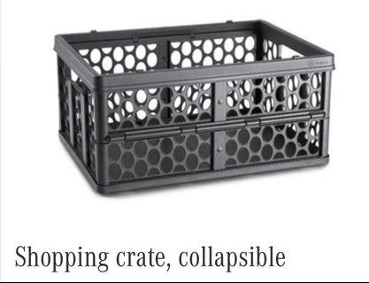 Mercedes Benz Shopping Crate - Collapsible