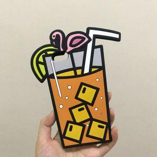 Pull & Bear Silicone Juice Drink iPhone 7 Case #1010