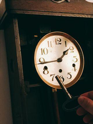 古董鐘1920's Westminster 7 days clock