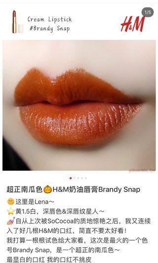 H&M brandy snap