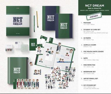 [INC EMS] Nct Dream / Nct 127 / Wayv School Kit