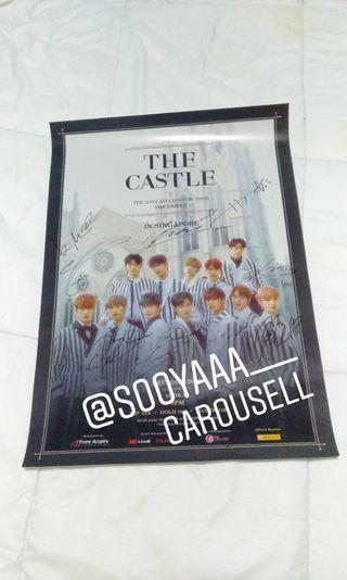 "The Boyz ""THE CASTLE"" Signed/Autographed Poster"