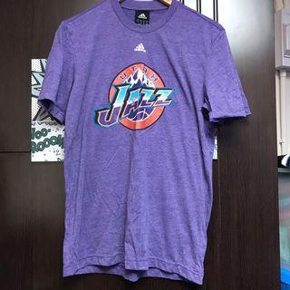 NBA Adidas Utah Jazz Tee (只著過一次)
