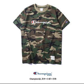🚚 [INSTOCK] Champion Green Camou Shirt
