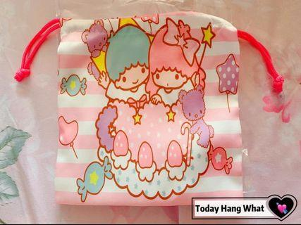 🚚 # Little Twin Stars Drawstring Pouch