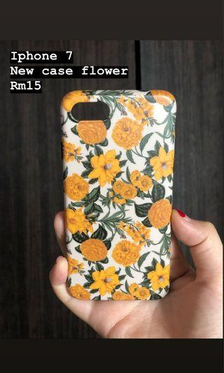 Case flower iphone 7