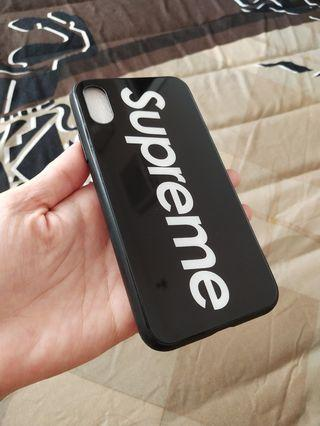 Supreme Case for Iphone X