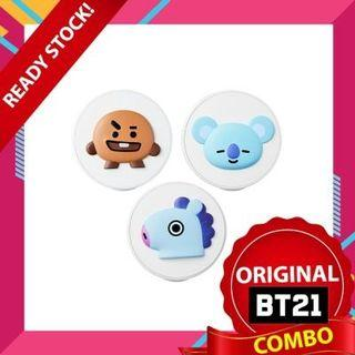 [Ready Stock][COMBO] VT BT21 Cheek Cushion 3pcs
