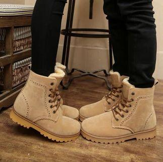 👢 Unisex boots winter warm