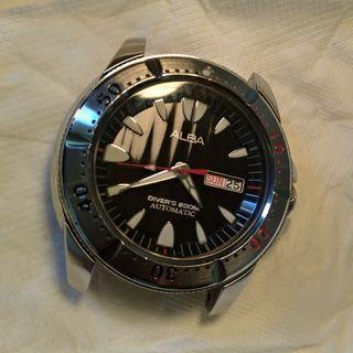 ALBA by Seiko automatic watch 機械錶 潛水錶 diver watch